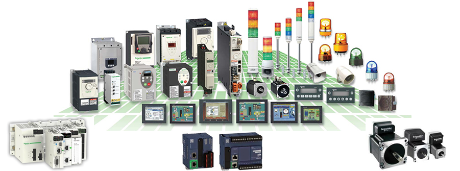 Schneider Servo Application und Plc Application